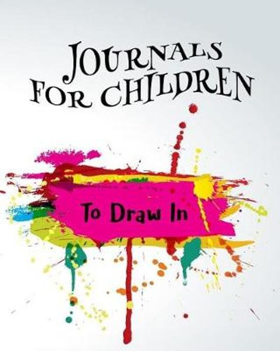Journals for Children to Draw in