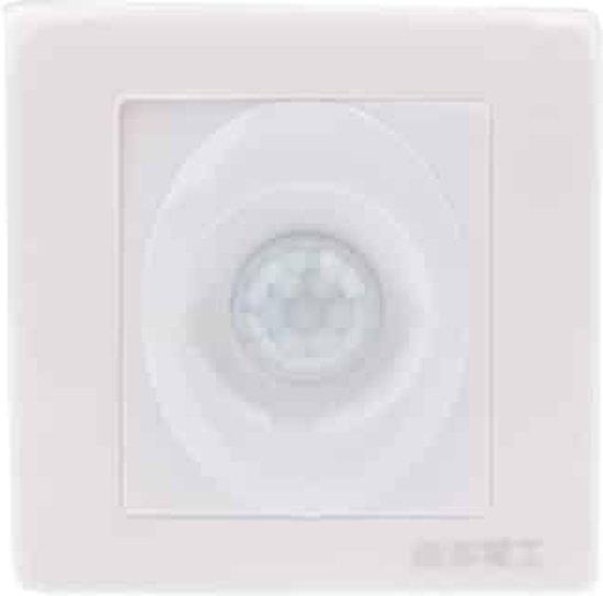R888 Muur menselijke Motion Sensor schakelaar (AC110V / 220V)(White)