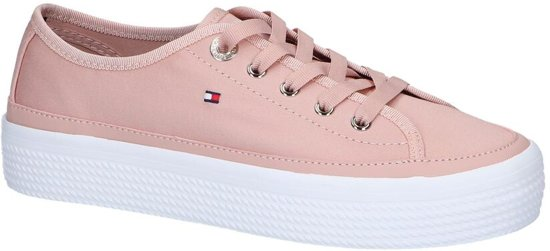 Roze Sneakers Tommy Hilfiger Corporate Flatform  Dames 40
