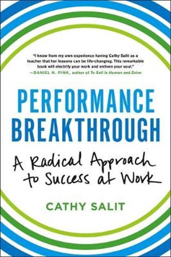 Bolcom Performance Breakthrough Cathy Rose Salit 9780316382489