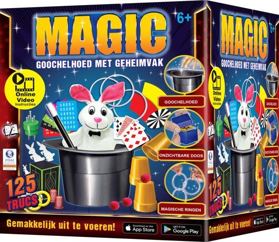 Afbeelding van Magische Grote Goochelhoed & Konijn - Goocheldoos speelgoed