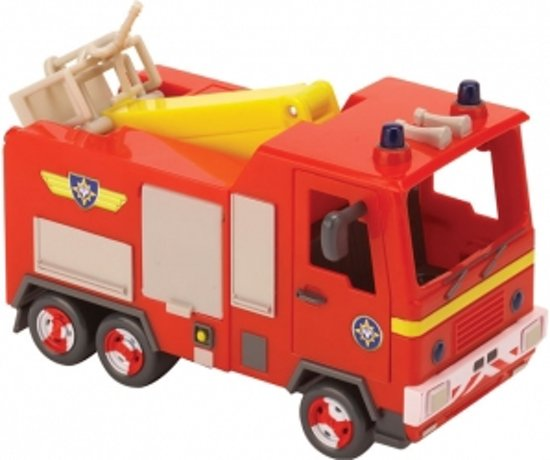 bol brandweerman sam jupiter de brandweerauto