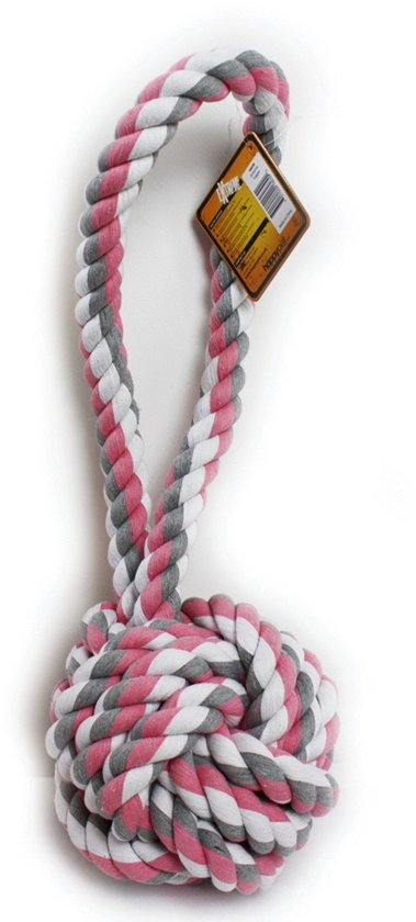 Happy Pet Nuts For Knots - Extreme Bal Tugger - Hondenspeelgoed - 60 x 24 x24 cm