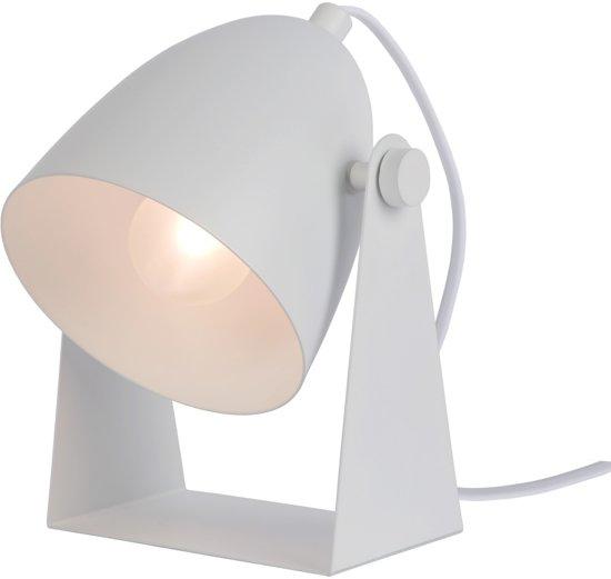 Lucide CHAGO - Tafellamp - E14 - Wit