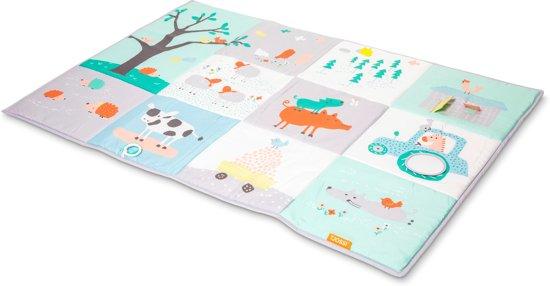 Afbeelding van Tjossi Speelmat Boerderij - zacht speelkleed met speeltjes -150 x 100 cm speelgoed