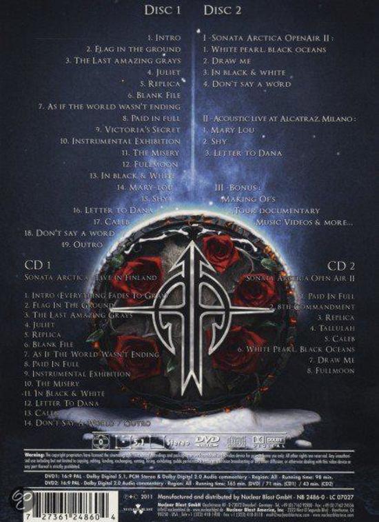 Bol Live In Finland Sonata Arctica Muziek