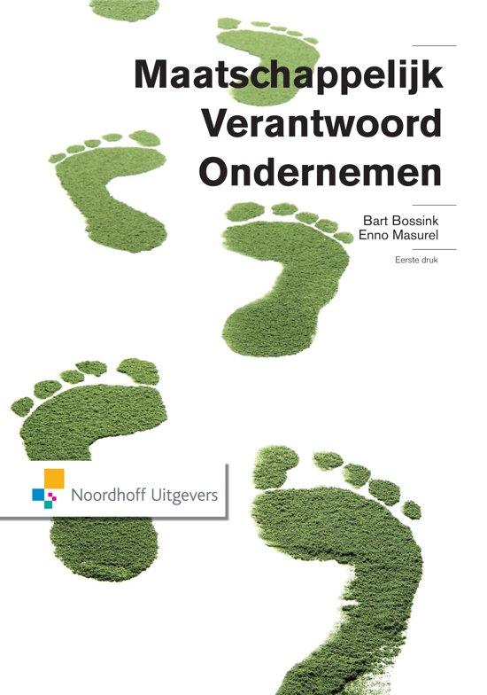 Boek cover Maatschappelijk verantwoord ondernemen van Bart Bossink (Paperback)