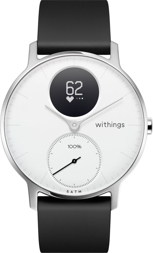 Nokia Steel HR - Smartwatch - Wit - 36mm