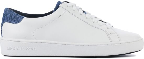 6cbcc61aa7f bol.com | Michael Kors Dames Sneakers Irving Lace Up - Wit - Maat 39