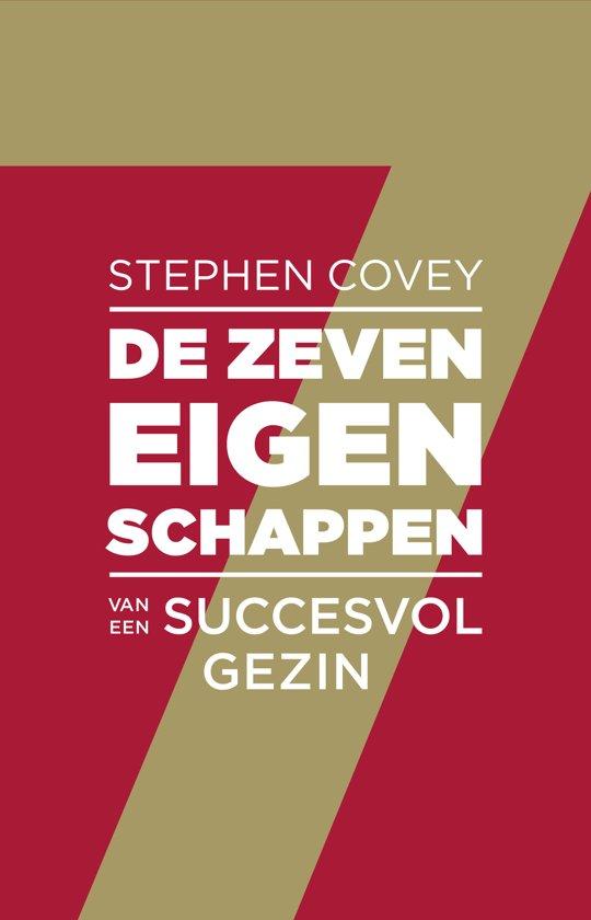 Boek cover De zeven eigenschappen van een succesvol gezin van Stephen R. Covey (Paperback)