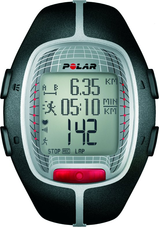 Polar RS300X - Sporthorloge - Zwart