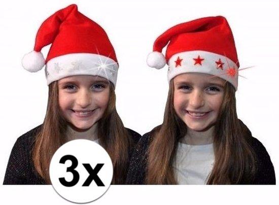 Kerstmuts Met Licht : Bol lichtgevende kerstmutsen voor kinderen met rode