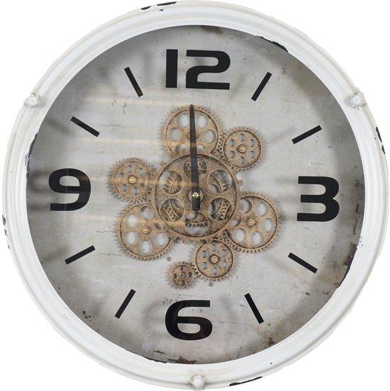 100% origineel officiële winkel beste kwaliteit Klok met open uurwerk 080609