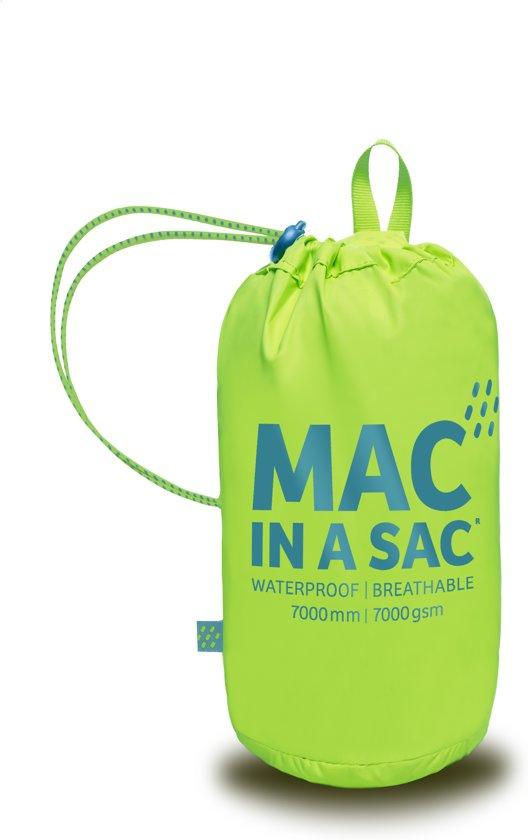 Mac in a Sac Regenjas - Volwassenen - Neon Yellow