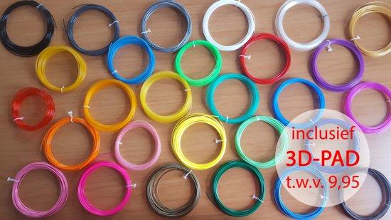 30x10m PLA filament van 1,75mm! | Incl. 3DPad a €9,95 |  Excl. 3d pen!