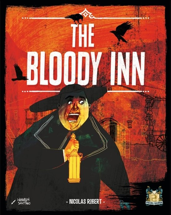 The Bloody Inn Engelstaling Bordspel