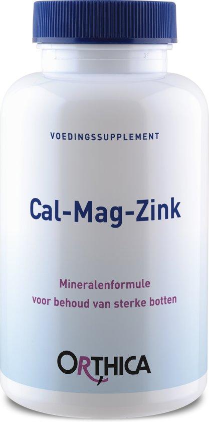 Orthica - Calcium Magnesium Zink - 180 Tabletten - Mineralen