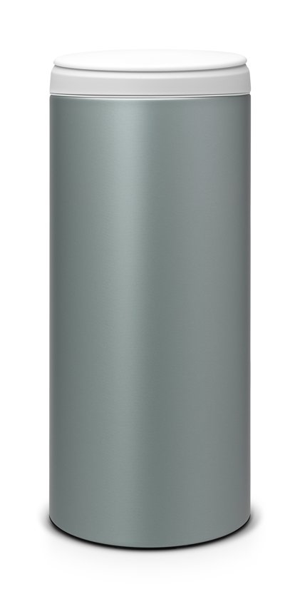 Brabantia Afvalbak 30 Liter.Bol Com Brabantia Flipbin Prullenbak 30 L Metallic Mint
