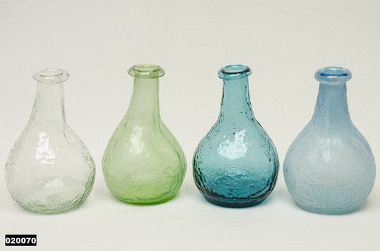 5 Mooie Vazen : Bol vaas glas bol met smalle hals