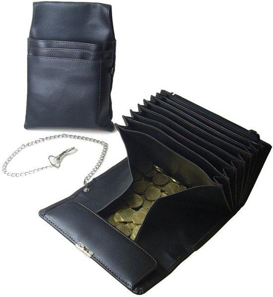 c82aea6b05a Horeca Taxi portemonnee koopmansbeurs met ketting en riemhouder holster