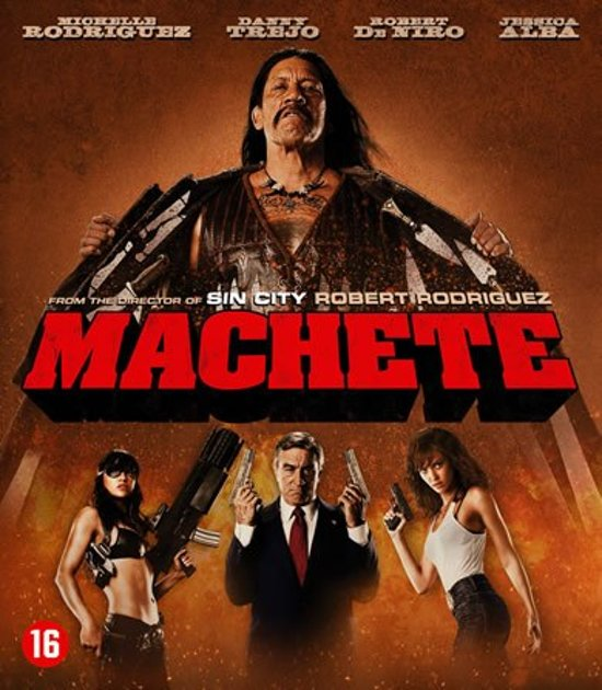 DVD cover van Machete (Blu-ray)