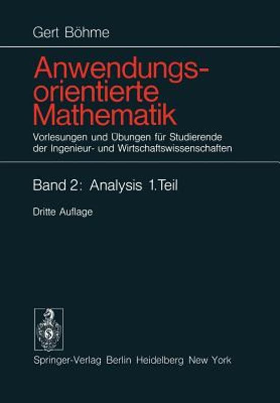 Anwendungsorientierte Mathematik