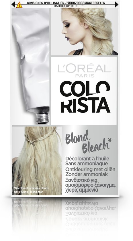 L'Oréal Paris Colorista Bleach Haarverf - Platina Blond Bleach