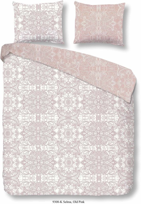 Descanso Dekbedovertrek 9308 roze-140x200/220