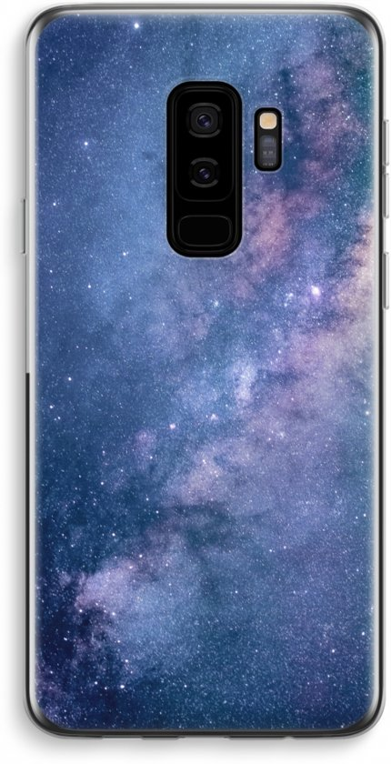 Samsung Galaxy S9 Plus Transparant Hoesje (Soft) - Nebula