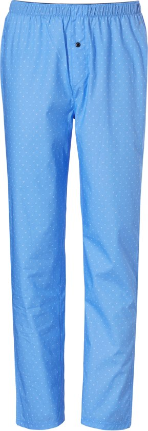 Ten Cate Heren Wijde Pyjamabroek Blauw-S (4)