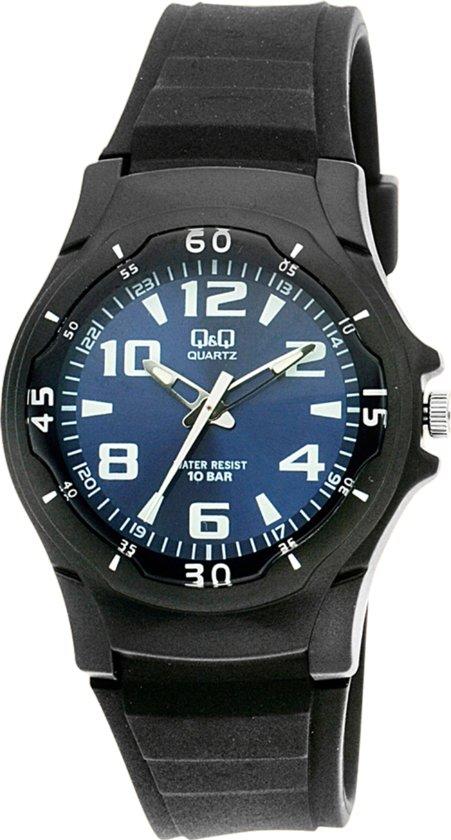 Q & Q Vp60J003Y - Horloge - Zwart
