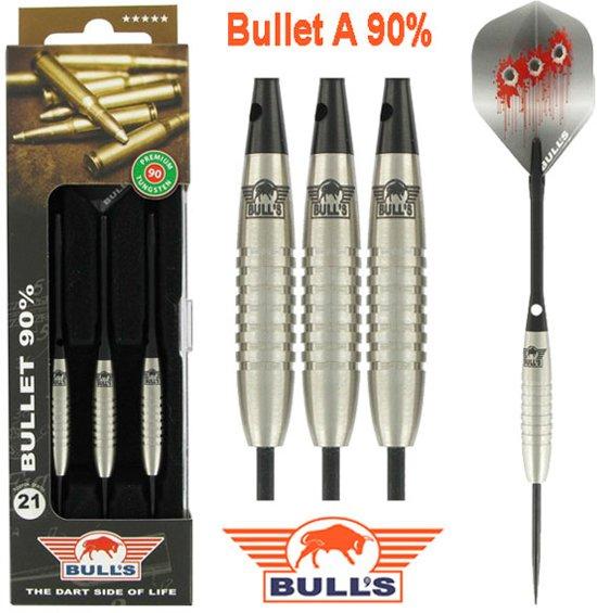 BULL'S Bullet 90% Tungsten dartpijlen - 25 gram