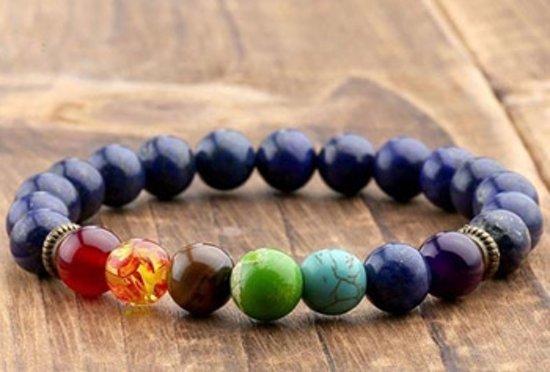 Chakra armband - blauw - krijg nieuwe energie en kom in balans
