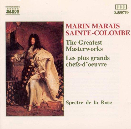 Marais, Sainte-Colombe: Masterworks / Spectre de la Rose