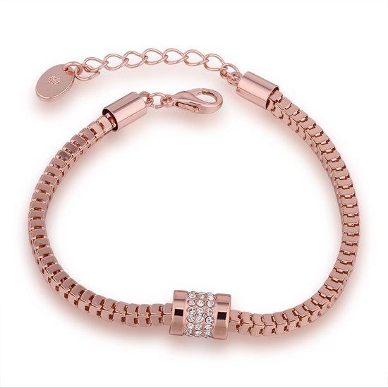 Venetiaanse Armband - Rosé verguld