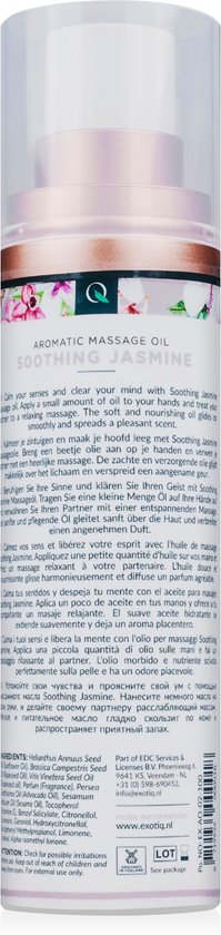 Exotiq Massageolie Soothing Jasmine - 100 ml