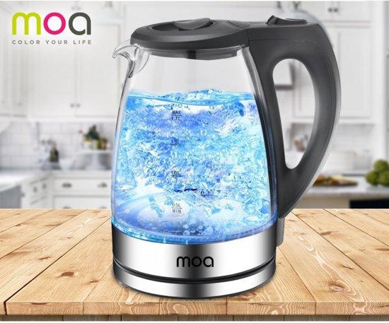 Moa DUTP-749 - Waterkoker - Led verlichting - 1.7 L