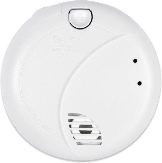 Rookmelder BRK 7010BE - 230v / Lichtnet - NEN2555 Bouwbesluit- 9v Alkaline Backup