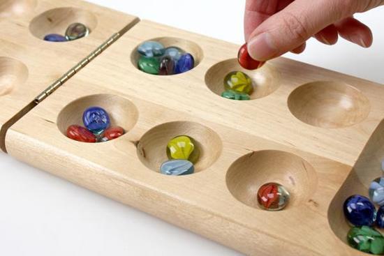 Kalaha Tin Box - Gezelschapsspel