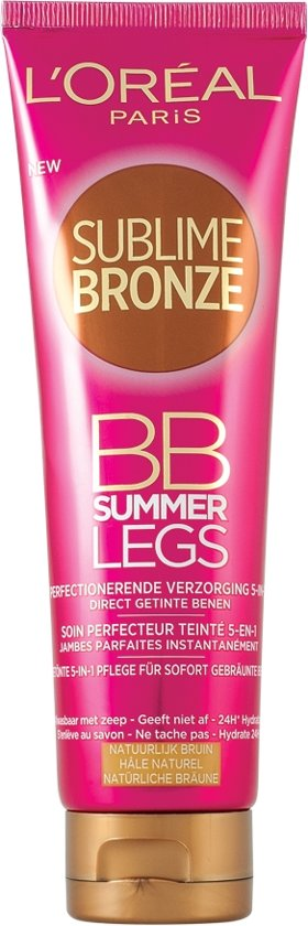 L'Oréal Paris Sublime Bronze BB Summer Legs - 150 ml - Natuurlijk Bruin