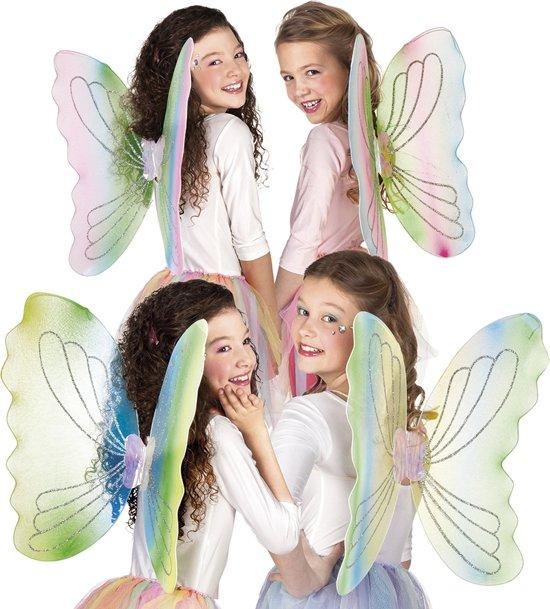 24 stuks: Vleugels Charmeine in 4 kleuren - assorti - 46x62cm