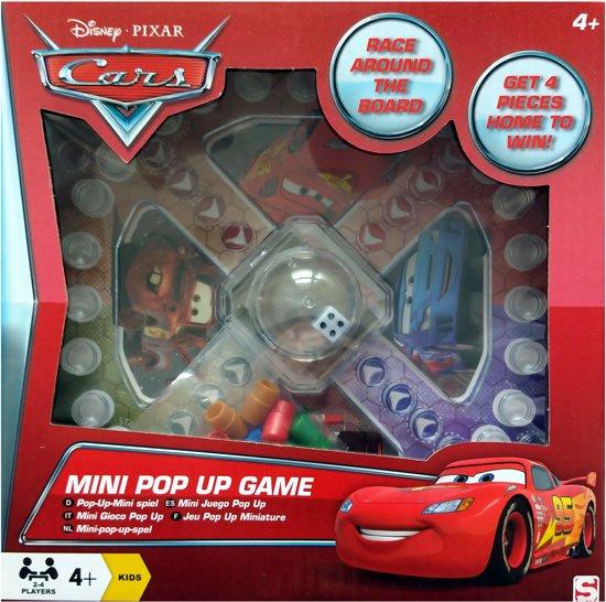 Disney Cars Mini Pop Up Game (mens erger je niet!)