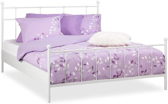 Tweepersoonsbed 160 210.Bol Com Beterbed Selvino Bed Wit 160 X 210 Cm