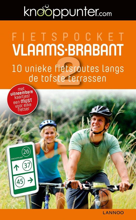 Boek cover Fietspocket Vlaams-Brabant van Gunter Hauspie (Paperback)