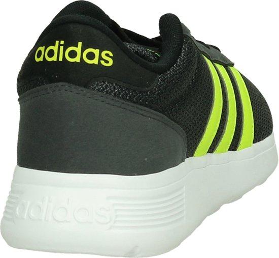 46 Heren Runner Core Racer AdidasLite Black Maat Sneaker Grijs EDH29WIY