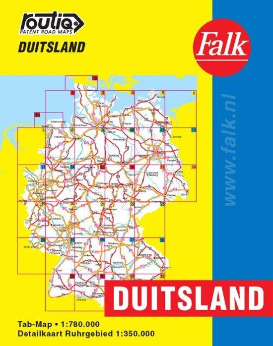 Routiq Duitsland tab map - Falk