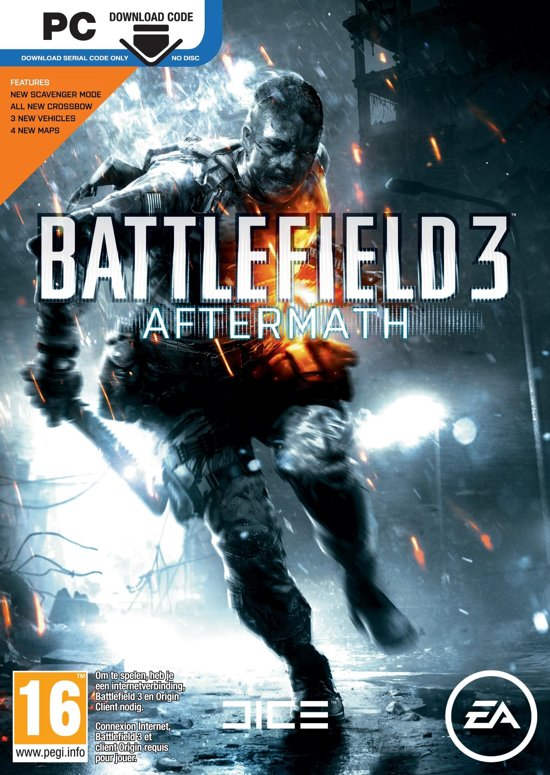 Battlefield 3: Aftermath - Code In A Box - Windows