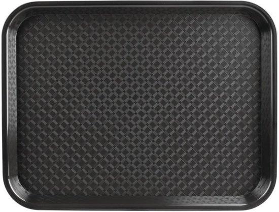 Dienblad 30x40cm zwart