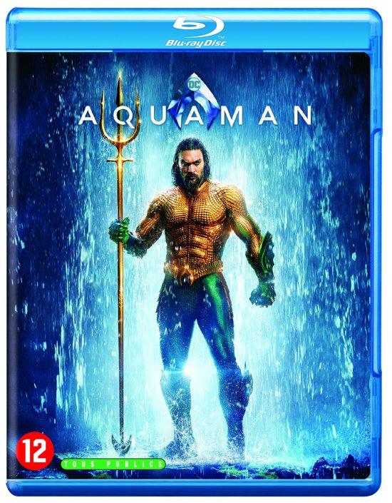DVD cover van Aquaman (Blu-ray)