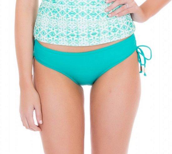 Beschermend DamesTurquoise Cabana Bikinibroekje Maat 38s Uv Life I9E2HD